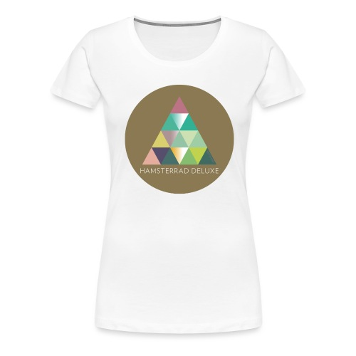 khpp7_Hamsterrad - Frauen Premium T-Shirt