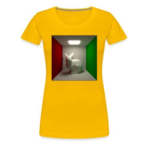 Bunny in a Box - Women's Premium T-Shirt