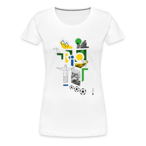 RIO - T-shirt Premium Femme