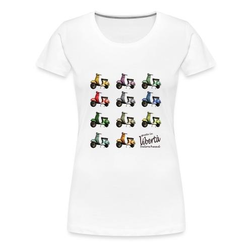 ♂ BIO-SHIRT: gusta la libertà - Frauen Premium T-Shirt