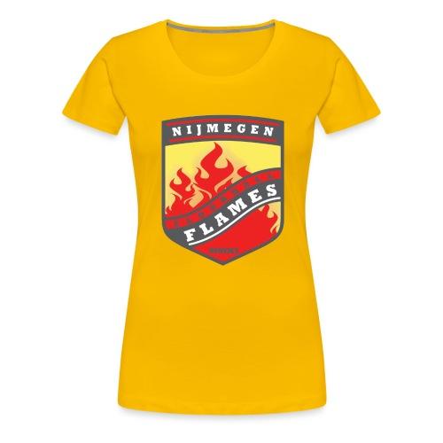 t-shirt kid-size zwart - Vrouwen Premium T-shirt