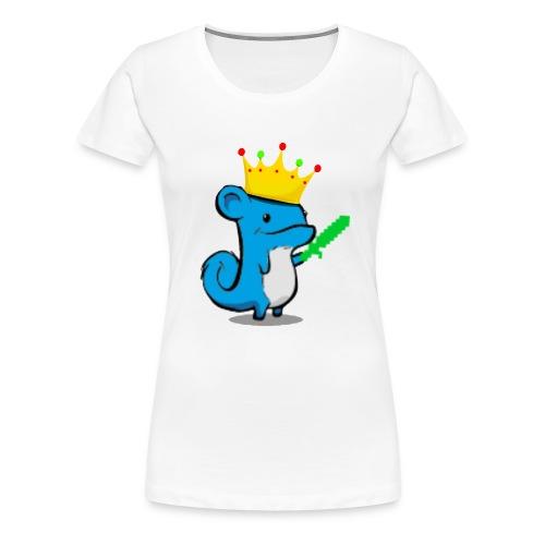 hybridefishy // Sweater (Big Logo) - Premium T-skjorte for kvinner