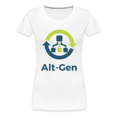 Alt-Gen Logo - Women's Premium T-Shirt