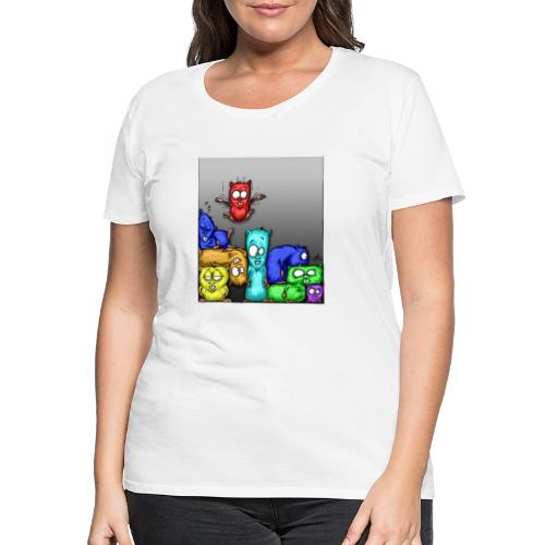 hamstris_farbe - Frauen Premium T-Shirt