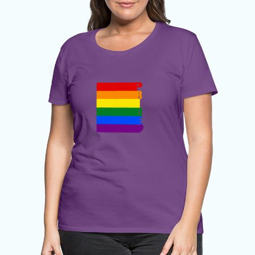 Rainbow flag - Women's Premium T-Shirt