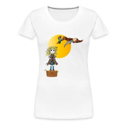Energiewesen Intufina mit Diva - Frauen Premium T-Shirt