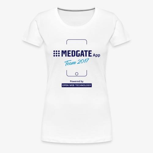 Medgate App Team 2017 White - Frauen Premium T-Shirt