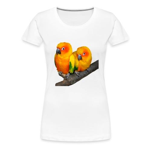 Parrots Love Valentin's Day 2018 - T-shirt Premium Femme