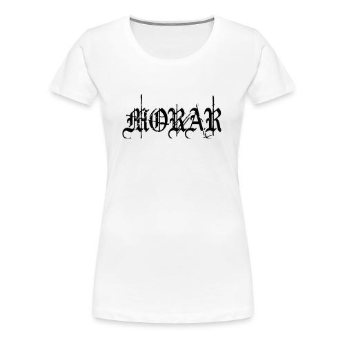 Morar - Logo white - Women's Premium T-Shirt