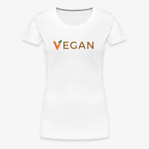 vegan - Women's Premium T-Shirt