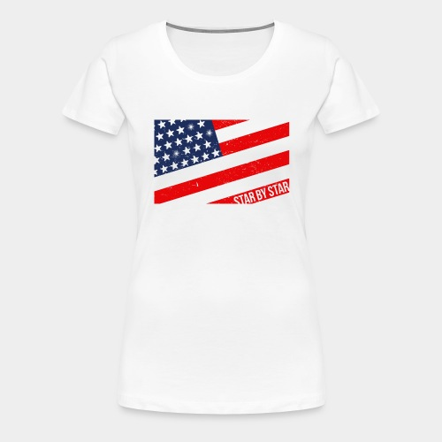us-flag - Women's Premium T-Shirt