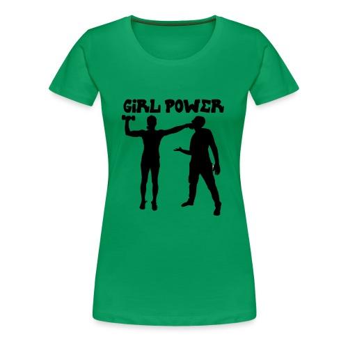 GIRL POWER hits - Camiseta premium mujer