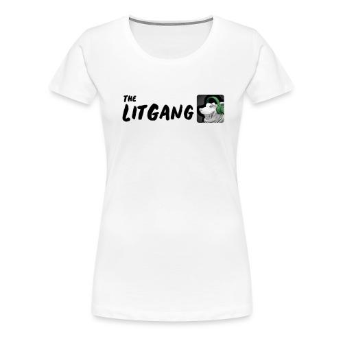 LitGang - Women's Premium T-Shirt