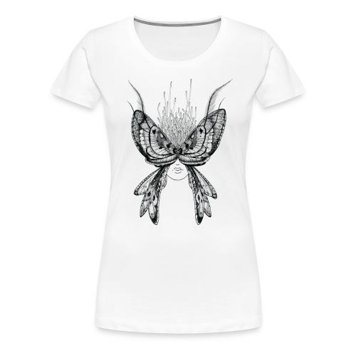 Nachtfalter - Frauen Premium T-Shirt