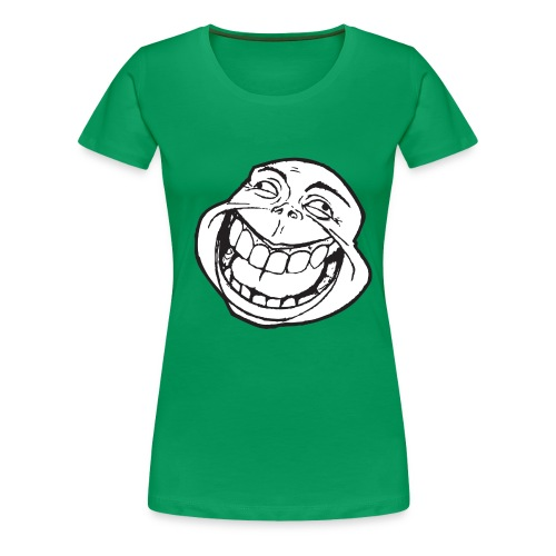 meme face not really by xarity d4es290 png - Vrouwen Premium T-shirt