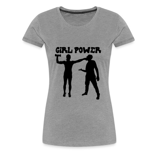 GIRL POWER hits - Camiseta premium mujer