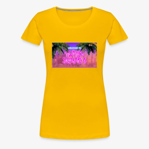Welcome To Twitch Squads - Women's Premium T-Shirt