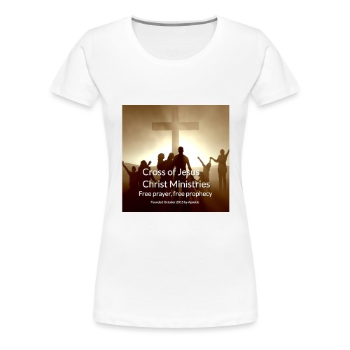Cross of Jesus Christ - Women's Premium T-Shirt