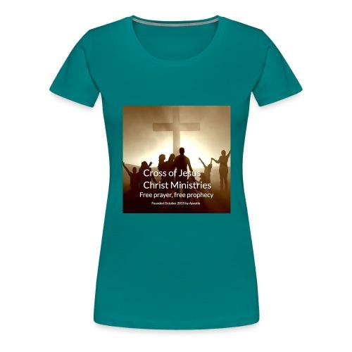 Cross of Jesus Christ - Women's Premium T-Shirt