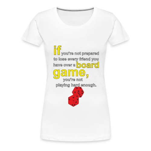 Board gamer - Women's Premium T-Shirt