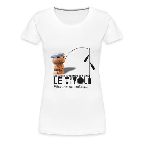 Logo Tivol AvecPerso - T-shirt Premium Femme