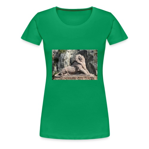 Photo Lion de Belfort - T-shirt Premium Femme