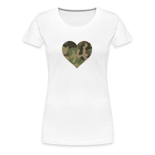 CamoHearth - Koszulka damska Premium