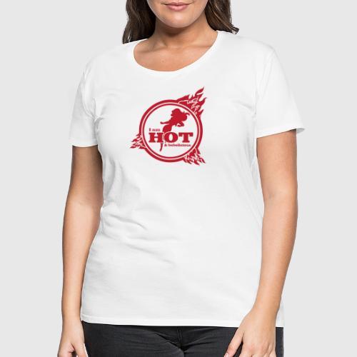 hot png - Dame premium T-shirt
