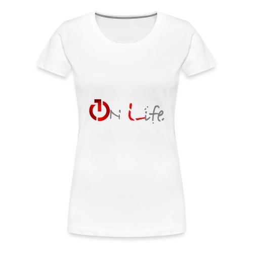 OnLife Logo - T-shirt Premium Femme