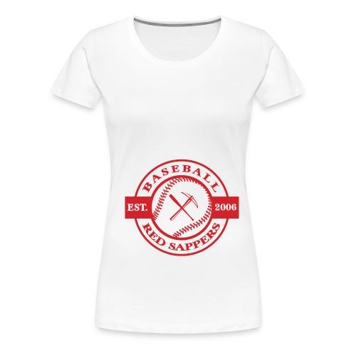 logo weiss - Women's Premium T-Shirt