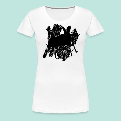 vaskh - Premium-T-shirt dam