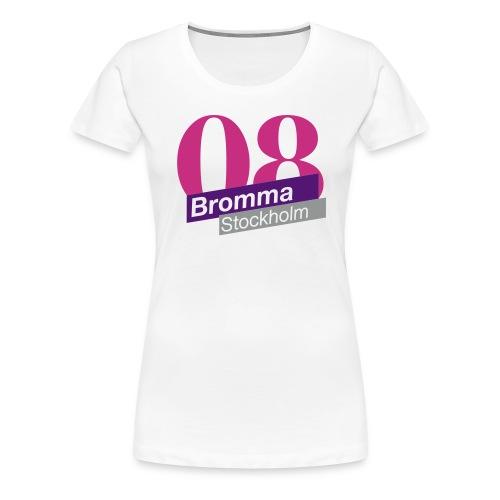 bromma nice 3 - Premium-T-shirt dam