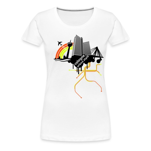 Cologne Urban Style (Köln/Stadt/Karneval) - Frauen Premium T-Shirt
