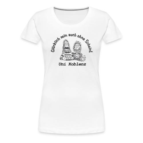 Uni Koblenz - Frauen Premium T-Shirt