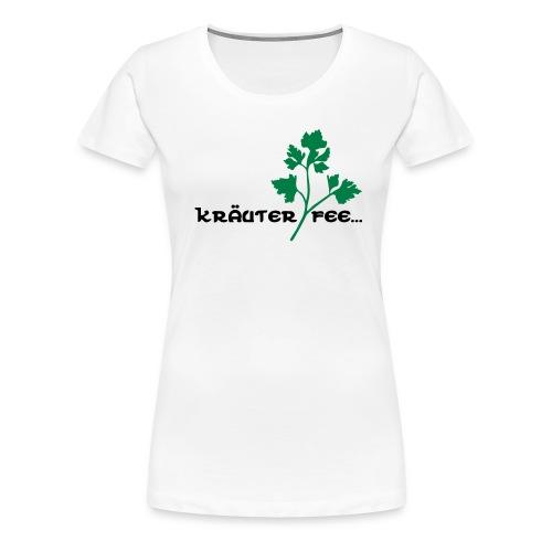 Kräuterfee - Frauen Premium T-Shirt