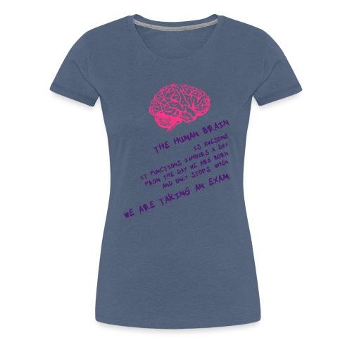 Human Brain - Maglietta Premium da donna