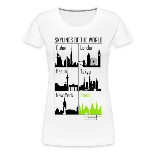 Skylinesgroooooß png - Women's Premium T-Shirt
