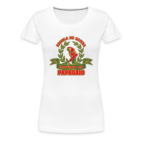 Papagaio logo - Naisten premium t-paita