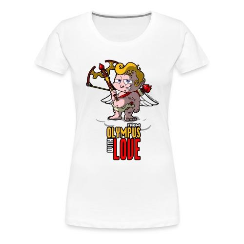 Agent Valentine Olympus Grin SiLee Films - Women's Premium T-Shirt
