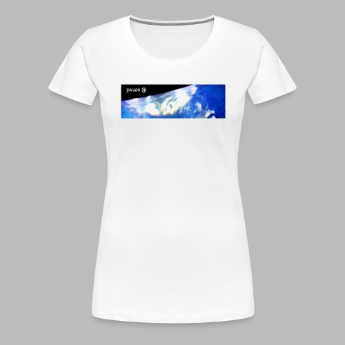 water stretched compressed png - Women's Premium T-Shirt