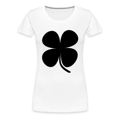 CLOVER - Camiseta premium mujer