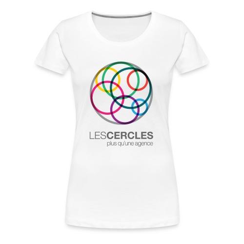 LESCERCLES Logo Colour - Women's Premium T-Shirt