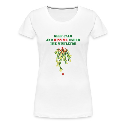 Under the mistletoe - Frauen Premium T-Shirt