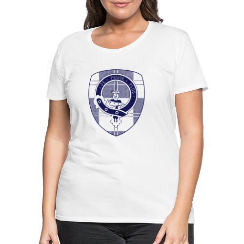 Logo Scouting Erskine 2018 - Vrouwen Premium T-shirt