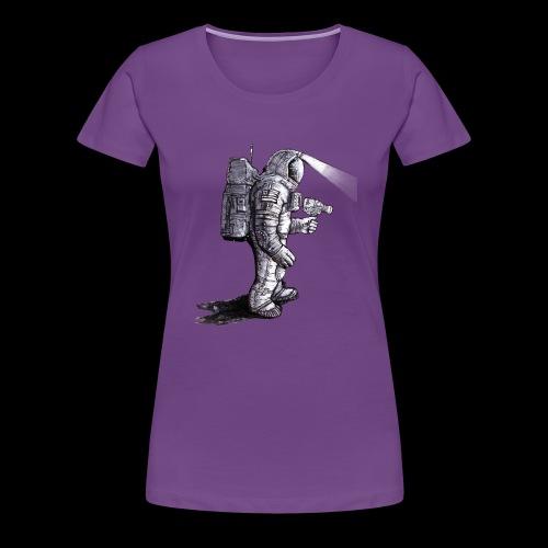Lost Astronaut - Women's Premium T-Shirt