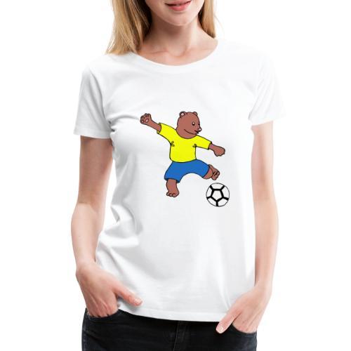 Bill le footballeur - T-shirt Premium Femme