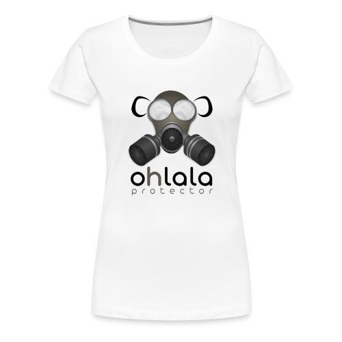 OHLALA PROTECTOR BLK - Frauen Premium T-Shirt