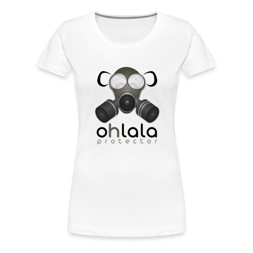 OHLALA PROTECTOR BLK - T-shirt Premium Femme