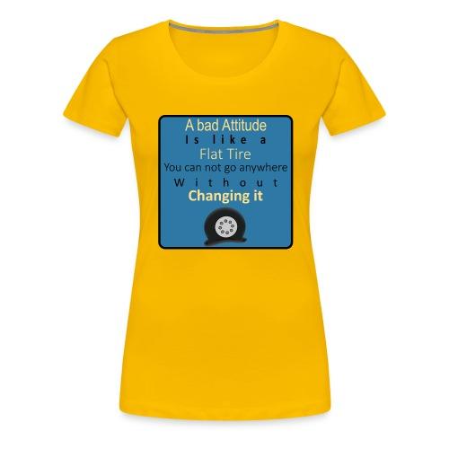 Flat-Tire - Dame premium T-shirt
