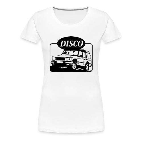 Landie Disco - Autonaut.com - Women's Premium T-Shirt